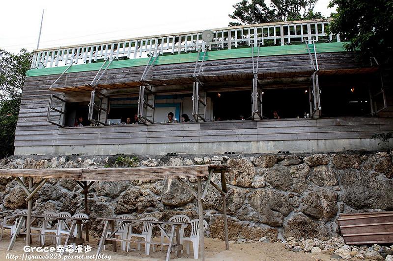沖繩浜辺の茶屋