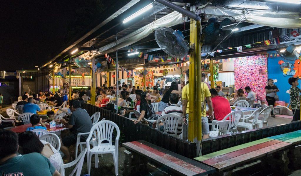 台中夜景景觀餐廳那兩蚵烤鮮蚵
