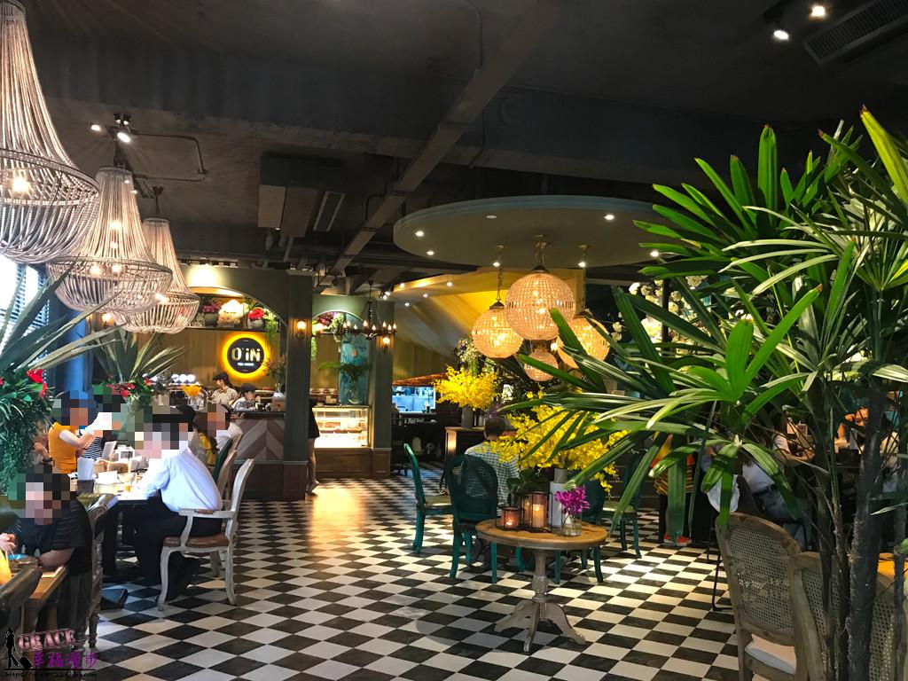 O' IN Tea House| 西區台中-勤美商圈森林系茶餐廳網美拍照熱門店家,創意港式小點還蠻可口 - 台中、西區、公益路、O' IN Tea House、港式、台中美食 - GRACE幸福漫步